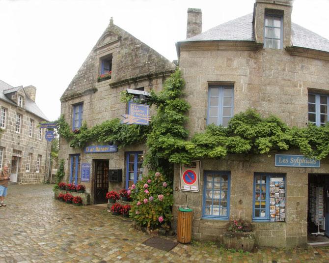 Locronan an einem regnerischen Tag, Crozon, Bretagne 13.09.2013