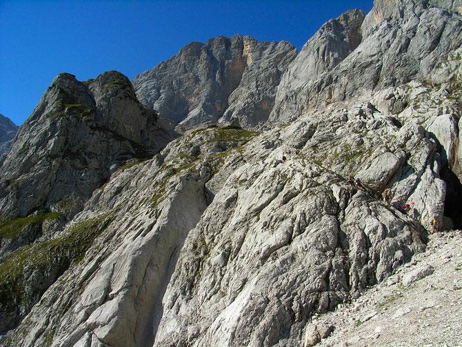Im Anna-Klettersteig, benannt nach der Geliebten von Erzherzog Johann, 07.09.2012 um 15:20