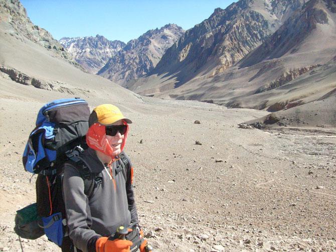 Die letzten Meter vor dem Basislager--endlich geschafft!! Glücklich aber vöölig erschöpft,  08.01.2008, 18:23 Uhr