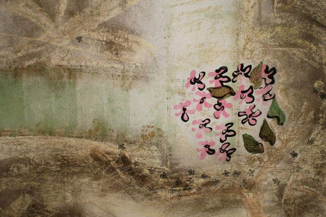 Installation Letzte Sakura  © Nathalie Arun