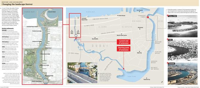 DUBAI 2016 . LE WATER CANAL OUVRANT D'AUTRES PERSPECTIVES