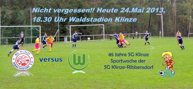 Auf ins Waldstadion nach Klinze !!!
