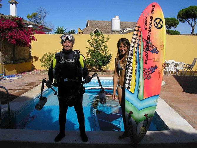 maria andres castro mariandres windsurf sailboardstarifa gun sails