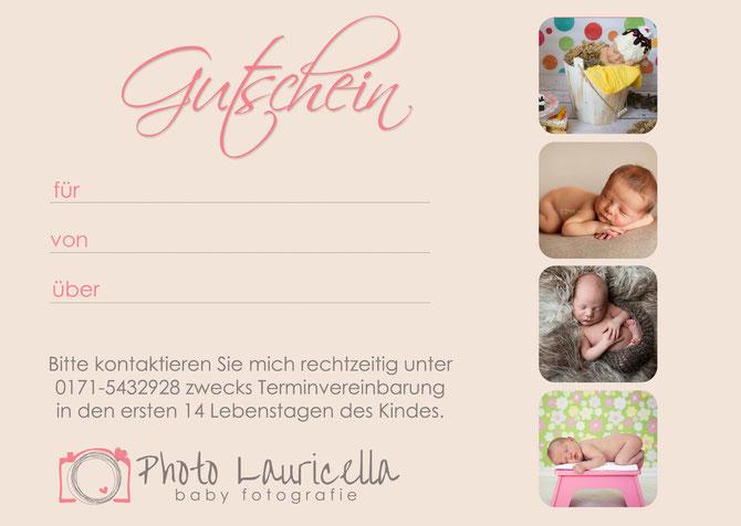 Gutschein Babyfotos Gummersbach Oberbergischer Kreis