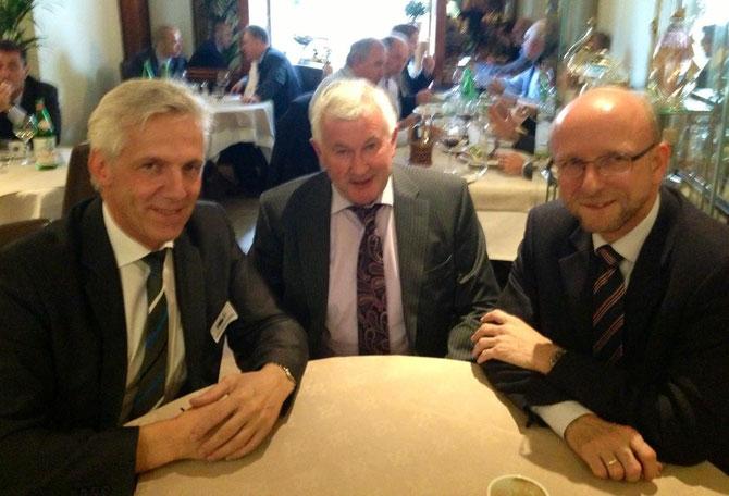 v.l.n.r.: Dr. Stefan Völl (VDL-Geschäftsführer), John Lynskey (IFA), Dr. Hans-Peter Schons (ADT)