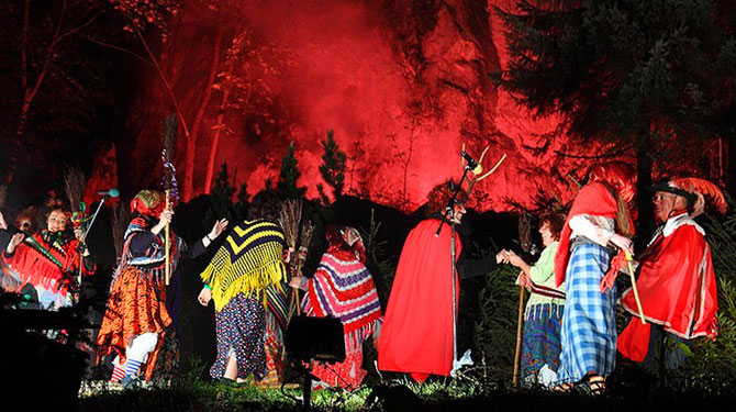 The long winter is starting to recede. The first signs of spring appear. It is time for the notorious Walpurgis Night! This is the night between April 30th and May 1st, when witches take control of the Harz mountains!