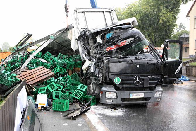 LKW-Unfall Hochstadt am Main (17) - (Foto: Stefan Johannes)