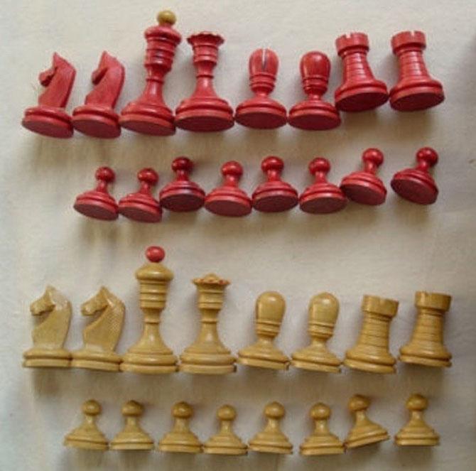 King 6,5cm     Pawn 2,5cm