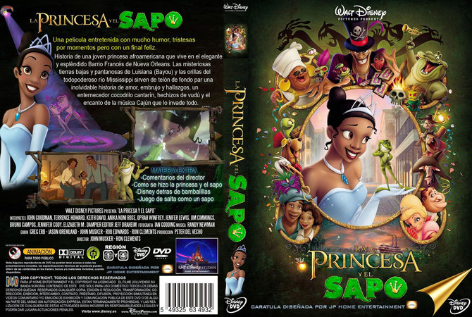 La Princesa y El Sapo [2009] [DvdRip-Avi] [Audio Latino] [MG]