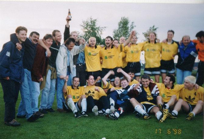 Die legendäre Aufstiegsmannschaft 1998