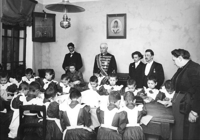 Детский приют трудолюбия св. Ольги. Санкт-Петербург. 2 мая 1899 г