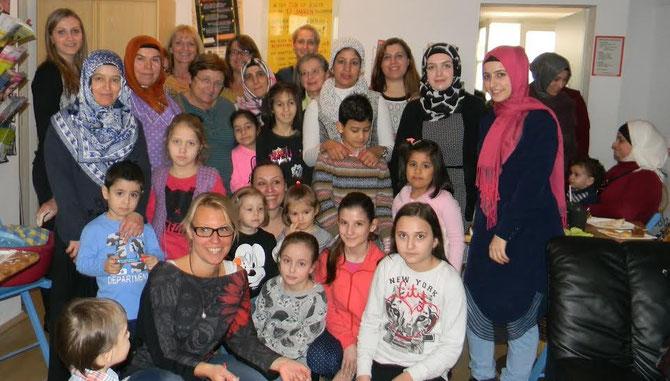 Unter den Besucherinnen konnten auch die Stadträtinnen Eva Hollerer, Alice Schopper und Anna Wegl sowie die Gemeinderätin Jasmina Brdaninovic begrüßt werden. Foto: zVg.