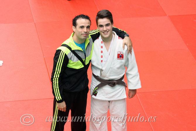 Rubén Martín y Carlos Arroyo