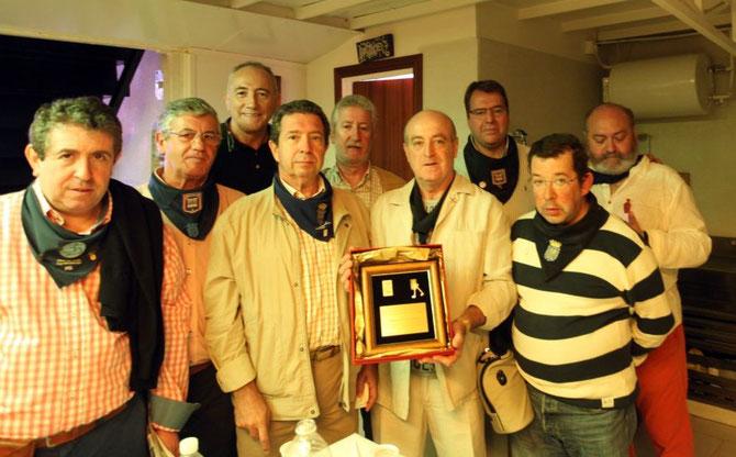 Nalda, Landaluce, Bernabé. Moreno, Anderica, Huerta, Martinez, Torrealba y Del Río.