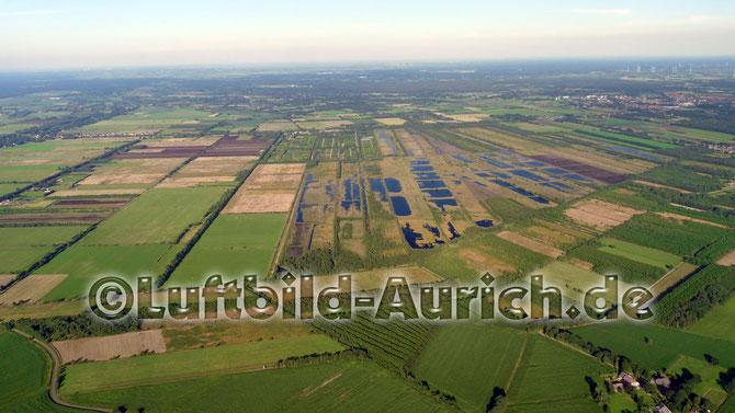 Wiesmoor's Moor, linke Bildmitte: Marcardsmoor