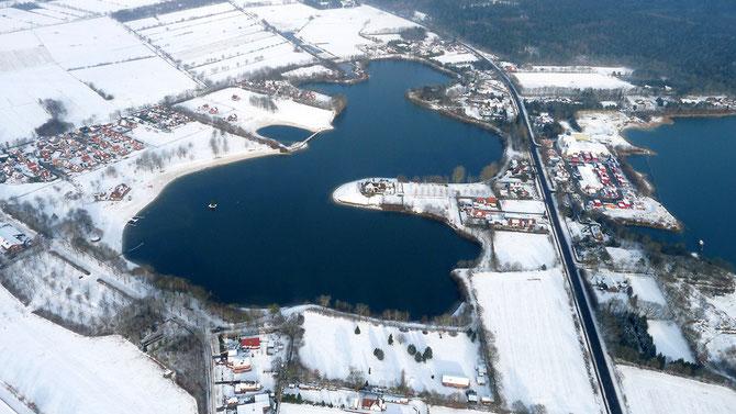 Badesee im Dezember 2012