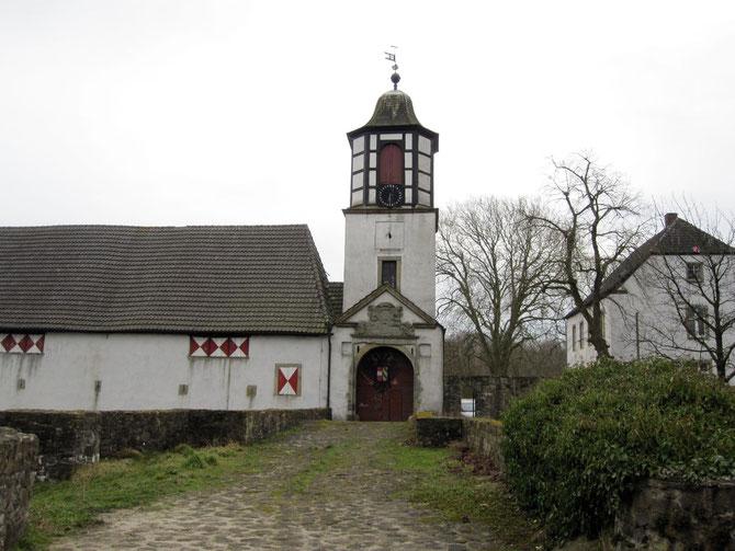 Burg Alt Barenaue, Bramsche-Kalkriese