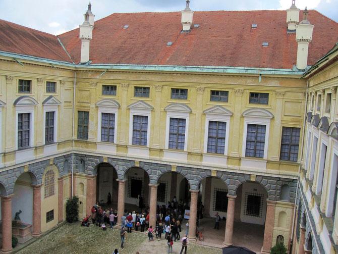 Residenz Landshut, italienischer Bau