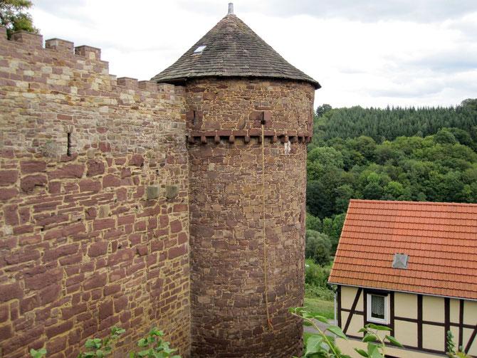 Burg Trendelburg, Torturm