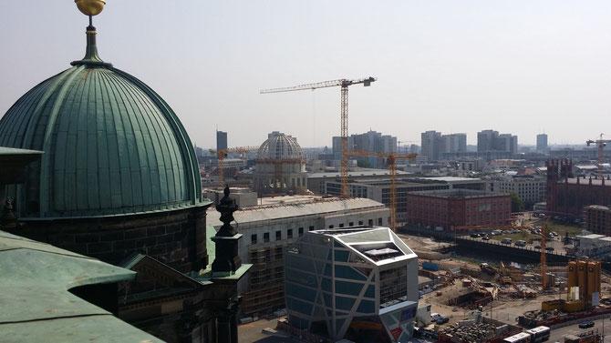 Neubau des Berliner Stadtschlosses, August 2015