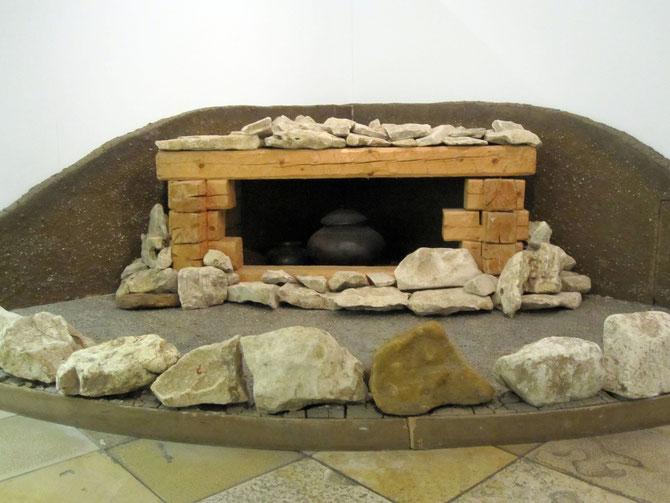 latènezeitliche Grabanlage, Rekonstruktion im Historischen Museum Regensburg