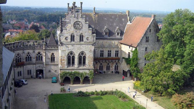 Burg Bentheim, Palas (Kronenburg)