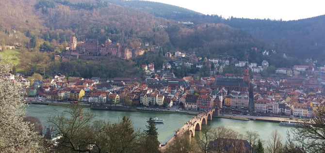 Heidelberg, Schloss und Altstadt
