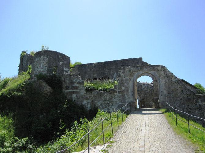 Burg Laaber, Torbereich