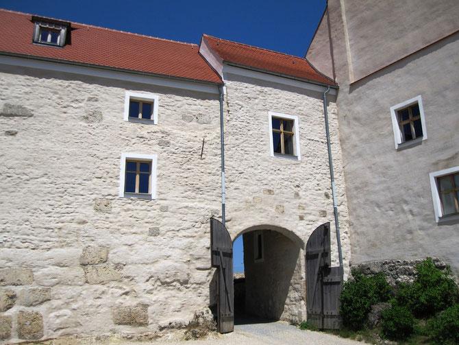 Burg Lupburg, Oberburg