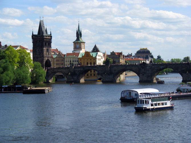 Altstädter Brückenturm an der Karlsbrücke, Prag