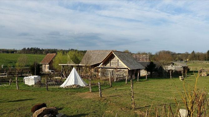 Geschichtspark Adventon, Handwerkerhäuser