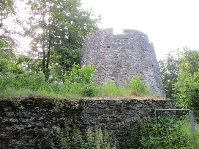 Burg Iburg, Bergfried, Bad Driburg
