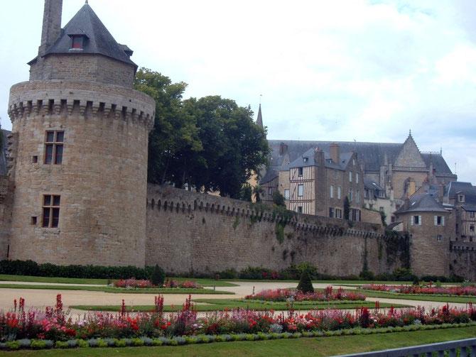 Stadtmauern von Vannes