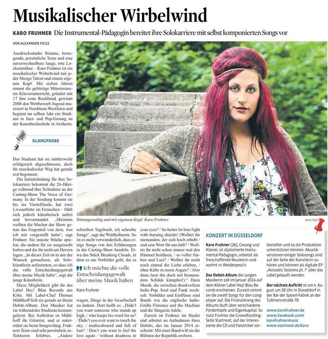 Kölner Stadtanzeiger berichtet über KARO