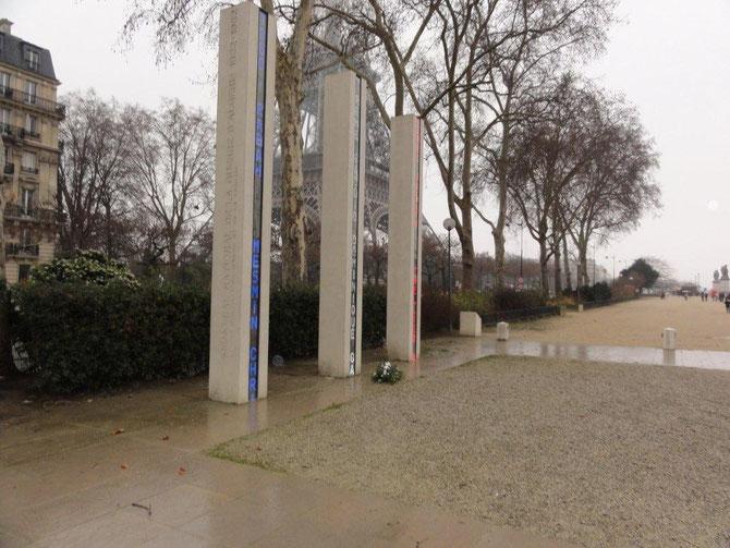 Le Mémorial du quai Branly,