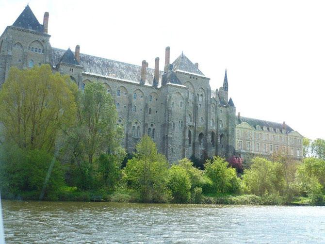 Sur la rivière la Sarthe