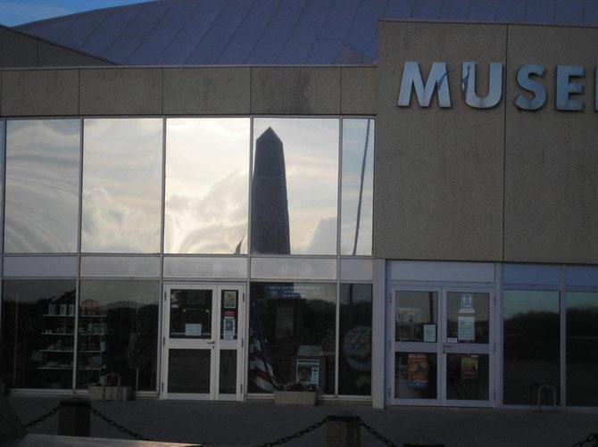 Musée americain à Utha Beach
