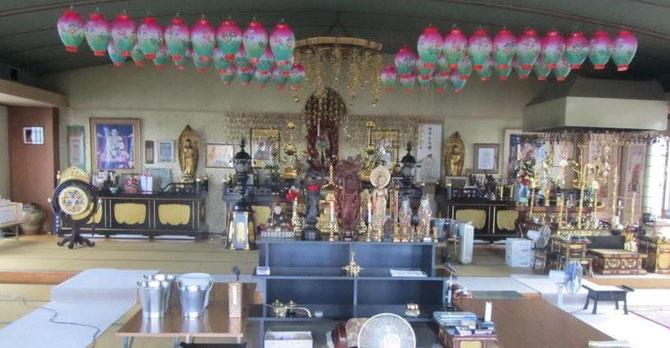 法得寺本堂の様子