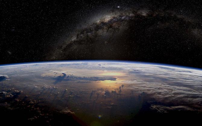 Die Erde von der ISS | Foto: Nasa