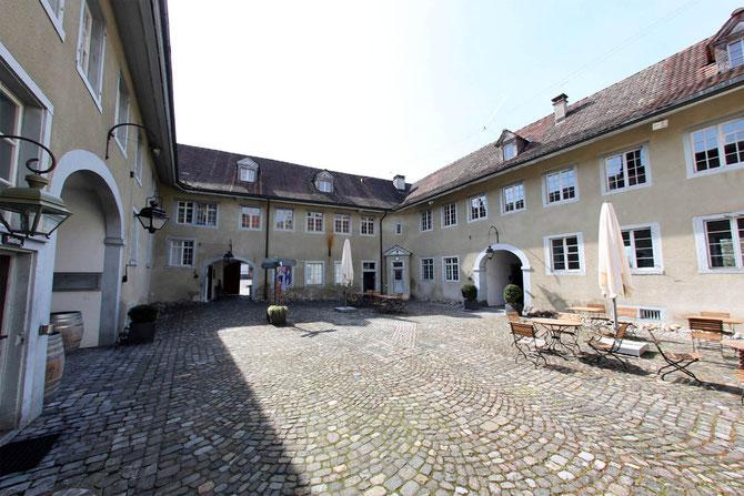 Der Hof des Greuterhofes