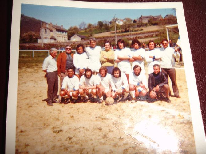 1973 - Equipe Réserve Championne Troisième Division