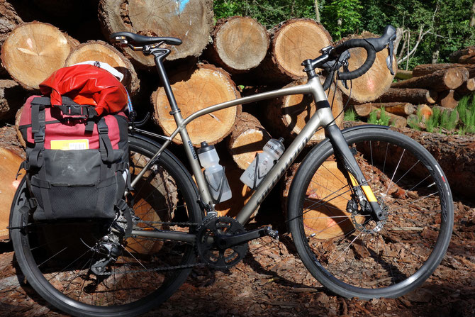 Specialized, Diverge, mit Gepäck, Road Bike
