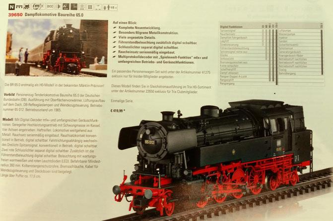 H0 39650 Märklin BR 65 DB