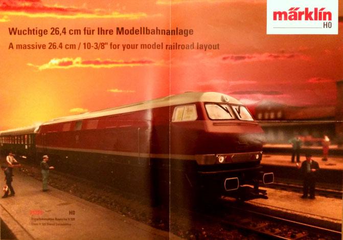 H0 Diesellok Märklin Trix V320 DB Insidermodell 2019