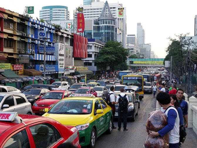 タイ、交通、