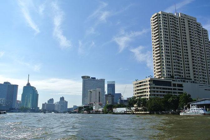 タイ、街並み、