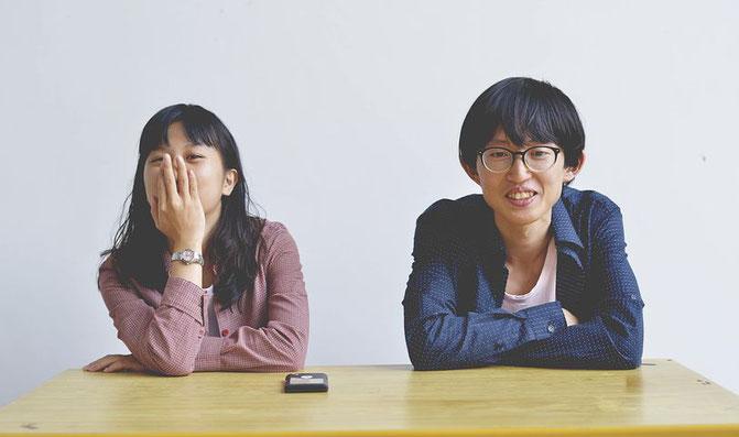 日本人女性、日本人男性、