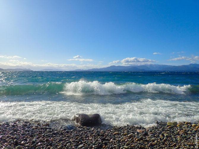 Bariloche liegt malerisch am Lago Nahuel Huapi