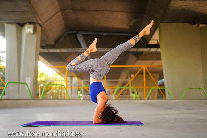 yoga urbano, book yoga, sesion fotos yoga, fotografo yoga, yoga madrid