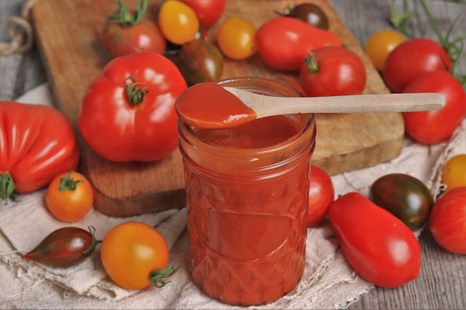 Tomaten-Curry Ketchup selbstgemacht